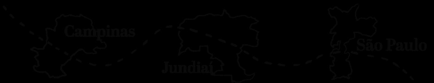 mapa campinas jundiai sao paulo